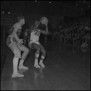 Primary view of [Basketball Game, NT vs Bradley University, February 8, 1962]
