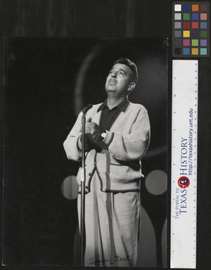 Primary view of object titled '[Photograph of Tennessee Ernie Ford]'.