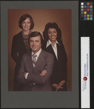 Primary view of object titled '[WXYZ TV Personalities in Detroit]'.