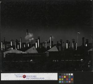 Primary view of object titled '[Smoke Stacks at Chevrolet Gear & Axle]'.