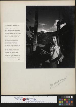 Primary view of object titled '[Woman with Accompanying Poem]'.