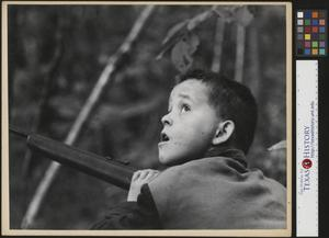 Primary view of object titled '[Mountain Boy with Rifle]'.