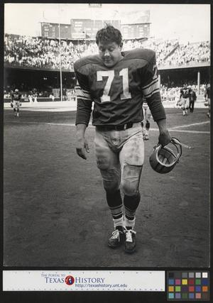 Primary view of object titled '[Detroit Lions Football Player Alex Karras]'.