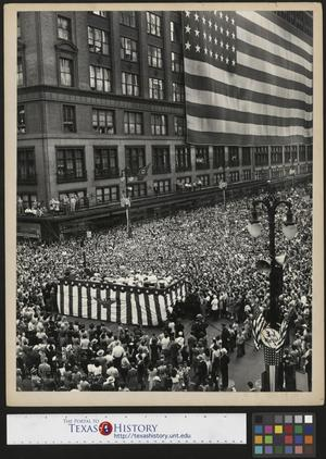 Primary view of object titled '[Third war loan rally in Detroit]'.