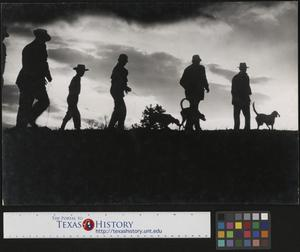 Primary view of object titled '[People Walking Dogs]'.