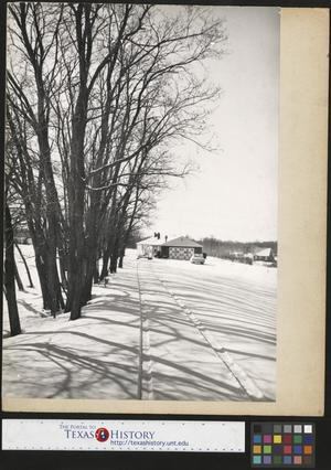 Primary view of object titled '[House and Driveway in Snow]'.