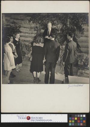 Primary view of object titled '[Wedding Rehearsal(1)]'.