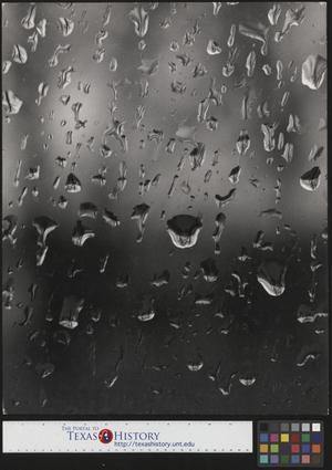 Primary view of object titled '[Water on Glass]'.