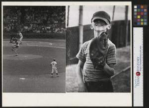 Primary view of object titled '[Tigers and Indians Baseball Game]'.
