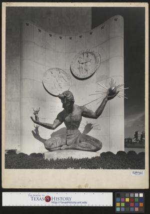 Primary view of object titled '[Spirit of Detroit Statue]'.