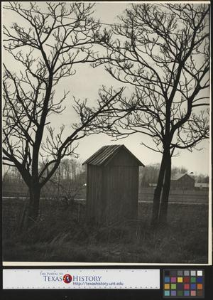 Primary view of object titled '[Outhouse Building]'.