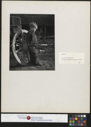 Primary view of object titled '[Young Boy]'.