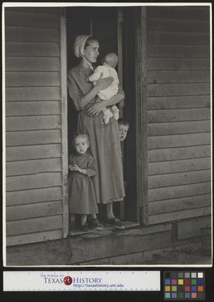 Primary view of object titled '[Mother with Children]'.