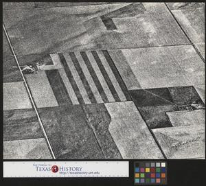 Primary view of object titled '[Aerial Photograph of Farming Land]'.