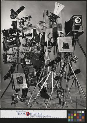 Primary view of object titled '[Joe Clark HBSS with His Camera Gear]'.