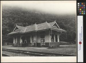 Primary view of object titled '[Train Station]'.