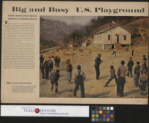 Primary view of object titled '[Busy U.S. Playground]'.