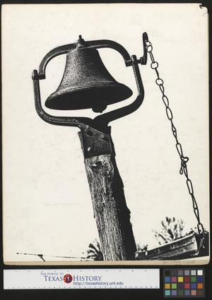 Primary view of object titled '[Farm Equipment - Dinner Bell]'.