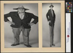 Primary view of object titled '[Joe Clark Weight Watcher's Photo]'.