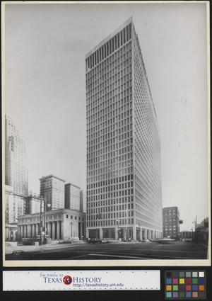 Primary view of object titled '[Detroit Bank and Trust Company Building]'.