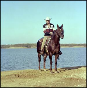 Primary view of object titled '[Barron Jack and rider]'.