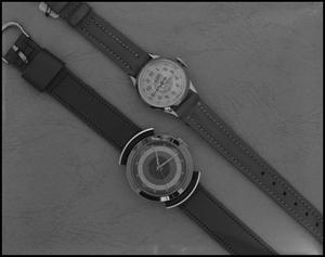 Primary view of object titled '[Sheffiled and Davey Crockett watch]'.