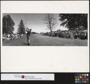 Primary view of object titled '[Buick Open Golf Tournament]'.