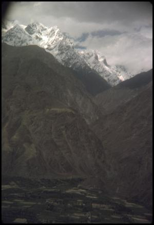 Primary view of object titled 'Leaving Gilgit Valley'.