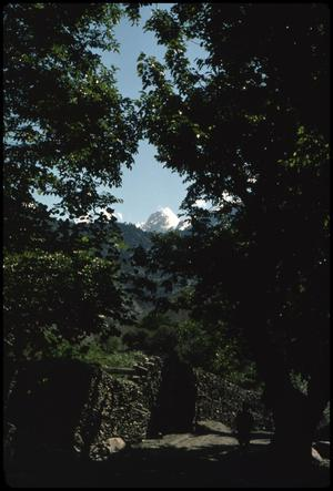 Primary view of object titled 'Mountain peak - framed'.