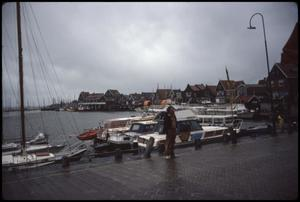 Primary view of object titled 'Volendam - by fish market'.
