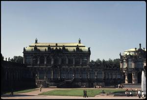 Primary view of object titled 'Zwinger Palace'.