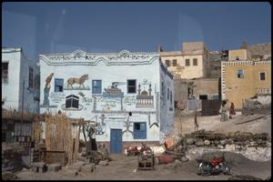 Primary view of object titled 'Village on the West Bank of Nile, house'.