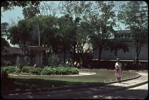 Primary view of object titled 'Presidential Palace and Mildred Zichner'.