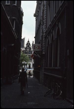 Primary view of object titled 'Narrow streets'.