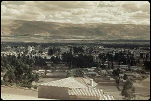Primary view of object titled 'Huancayo from a hill'.