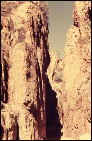 Primary view of object titled 'Return trip - chasm - 1:00 P.M.'.