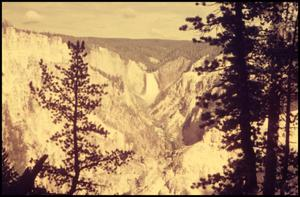 Primary view of object titled 'Yellowstone Falls'.