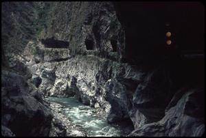 Primary view of object titled 'Taroko Gorge tunnels'.