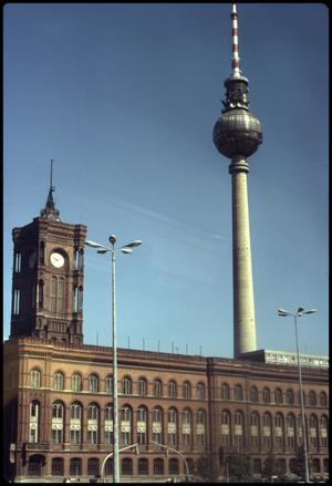 Primary view of object titled 'Furnsehturm Tower'.
