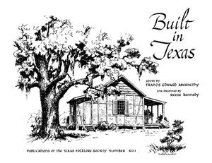 Primary view of object titled 'Built in Texas'.