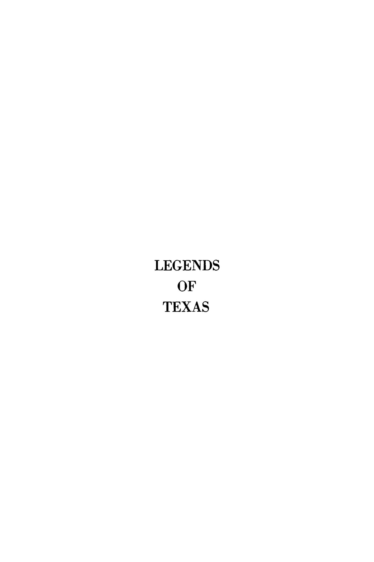 Legends of Texas                                                                                                      None