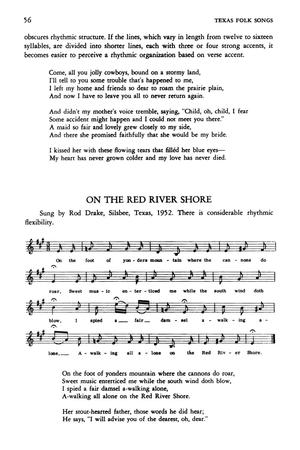 Texas Folk Songs - Page 56 - The Portal to Texas History