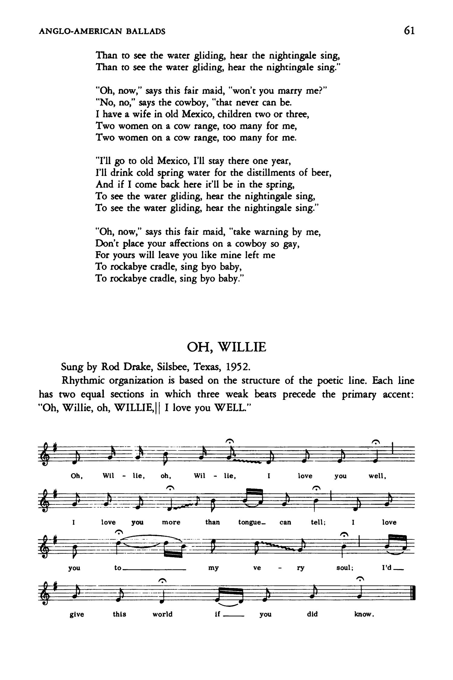 Texas Folk Songs - Page 61 - The Portal to Texas History