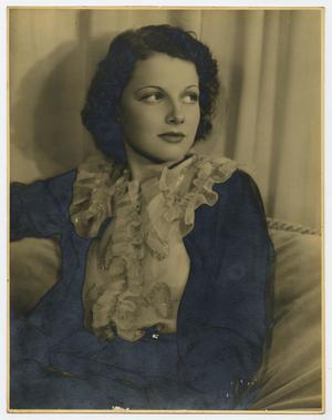 Primary view of object titled '[Portrait of Ann Sheridan]'.