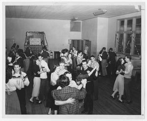 Primary view of object titled '[School dance]'.