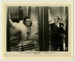 "Primary view of object titled '[Ann Sheridan ""Letter of Introduction"" Film Promo]'."