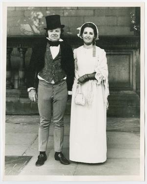 Primary view of object titled '[Don and Dolores Vann in Sheffield, England, 1972]'.