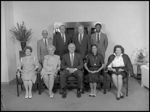Primary view of object titled '['89 Board of Regents group shot 2]'.