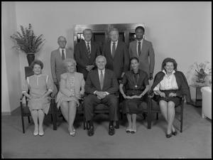 Primary view of object titled '['89 Board of Regents group photo 3]'.