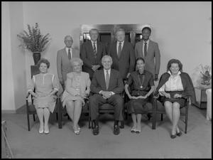 Primary view of object titled '['89 Board of Regents group photo 4]'.